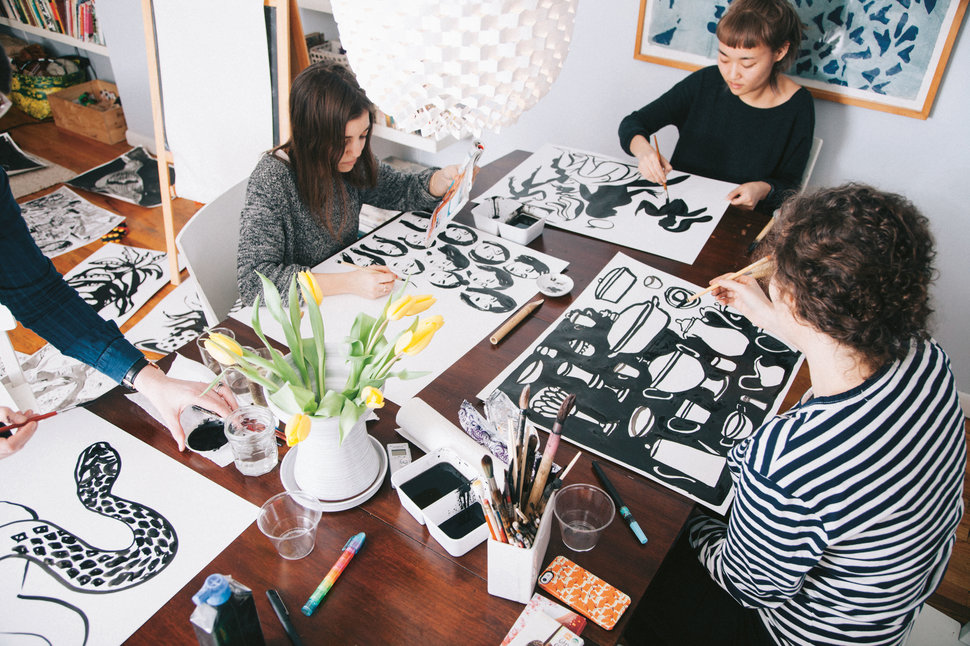 FREE Grown-up Artist's Club