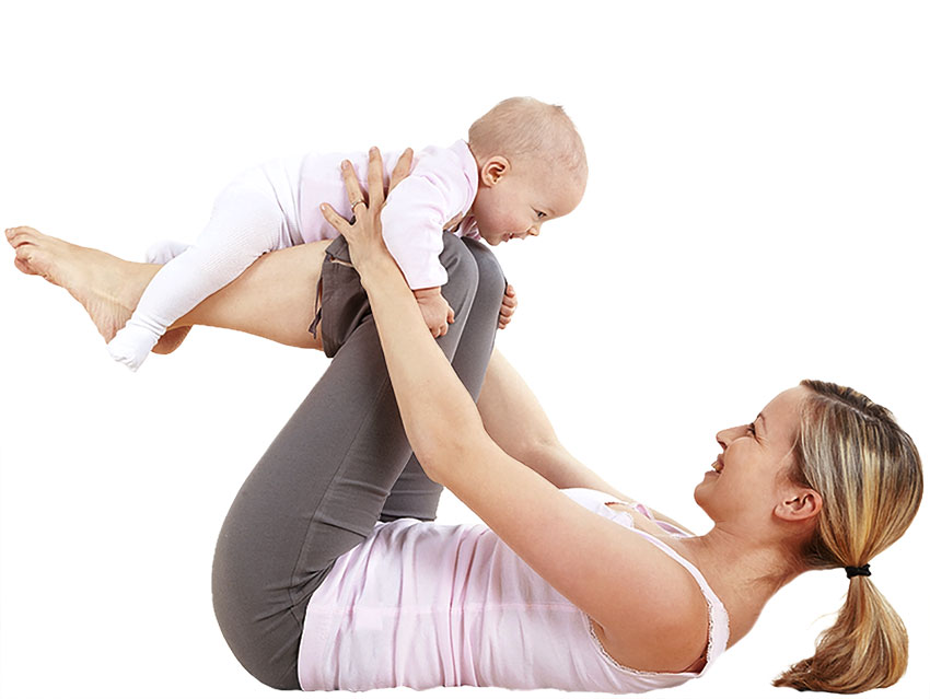 Parent and Baby Yoga