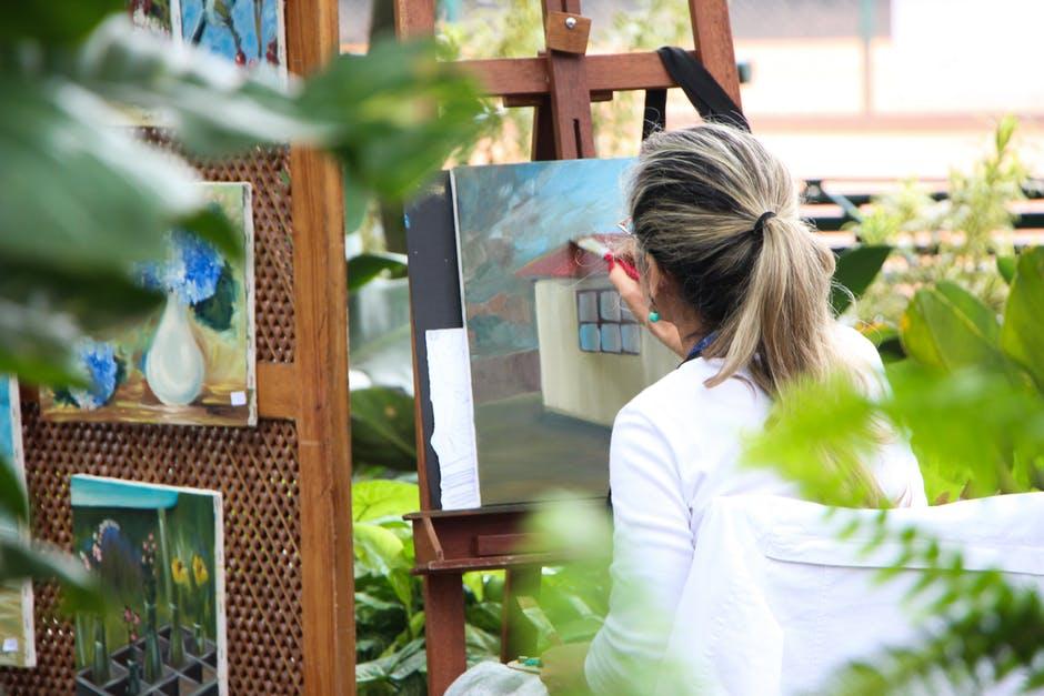 Painting by the River - Al Fresco workshop
