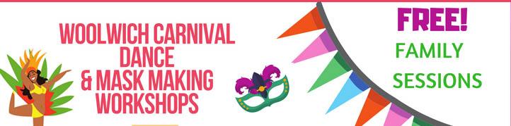 Free Dance & Mask Making Carnival Workshops