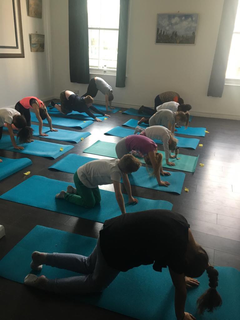 Kids Summer Yoga age 5-12