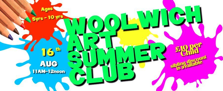 Woolwich Art Summer club