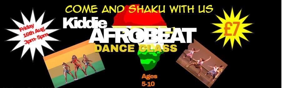Teen Afrobeats Dance class