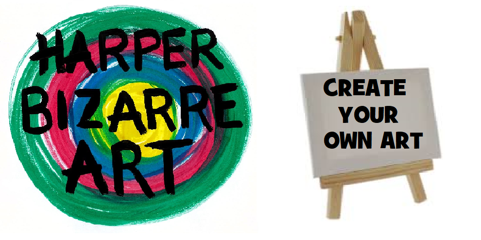 Create Your Own Art workshop by Harper Bizarre Art at artFix Greenwich