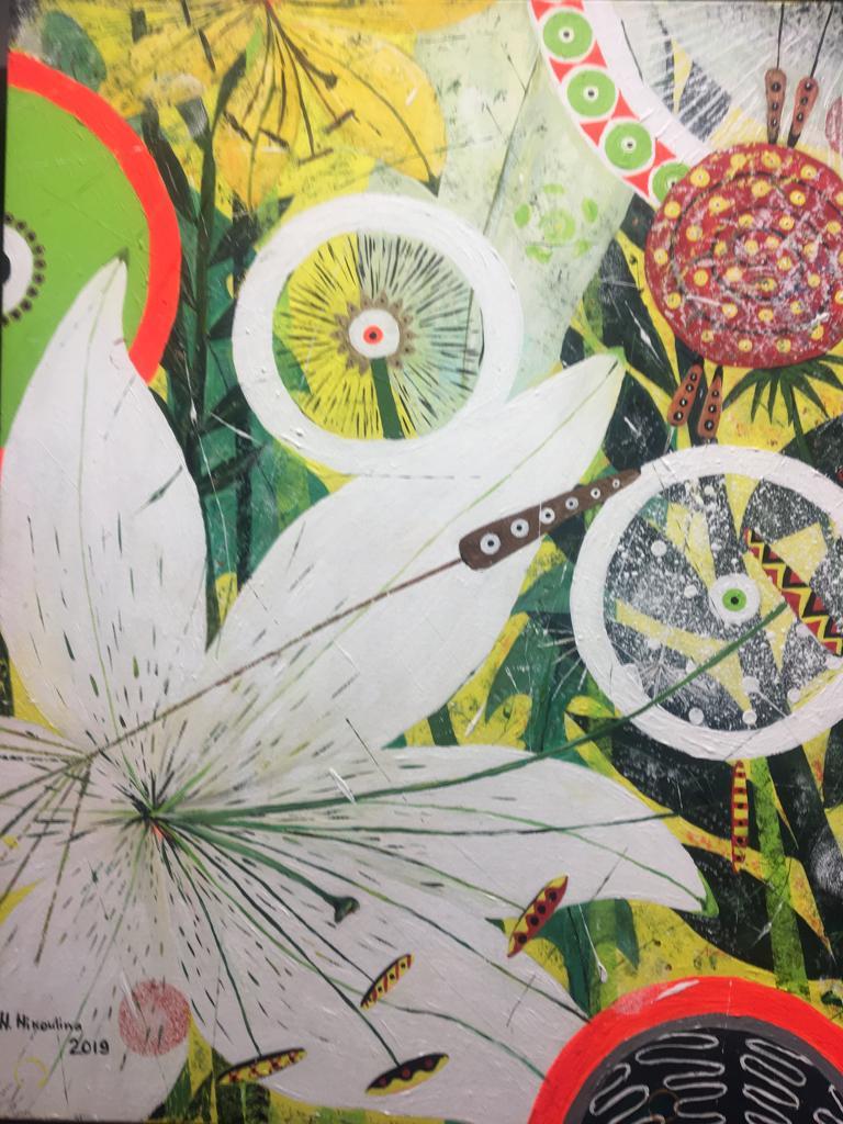 Exhibition by Natalia Nikoulina in artFix Woolwich