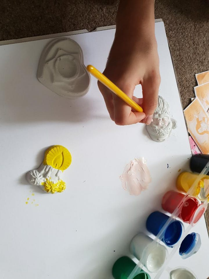 Christmas Ornaments Painting Workshop for kids Woolwich