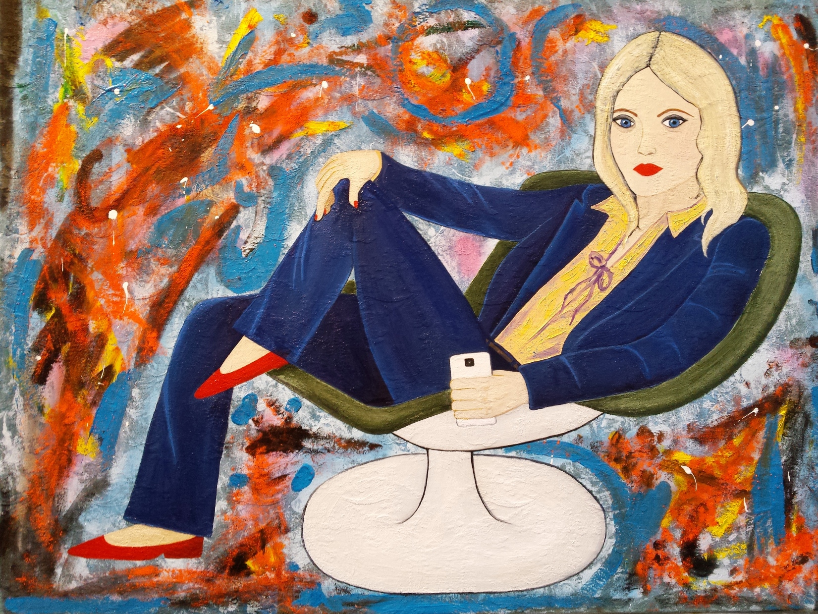 Enjoy the Silence exhibition by Alexandra Moskalenko