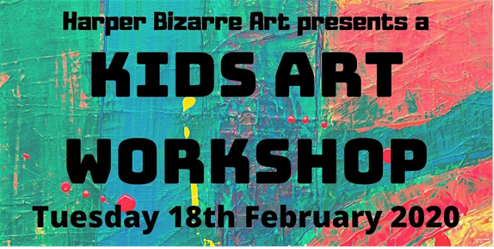 Kids Art Workshop with Harper Bizarre Art at Greenwich