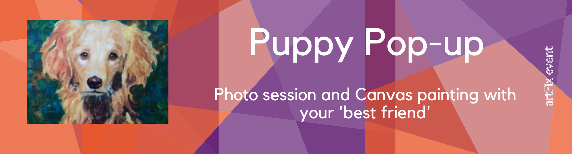 Puppy Pop-up Photo Session